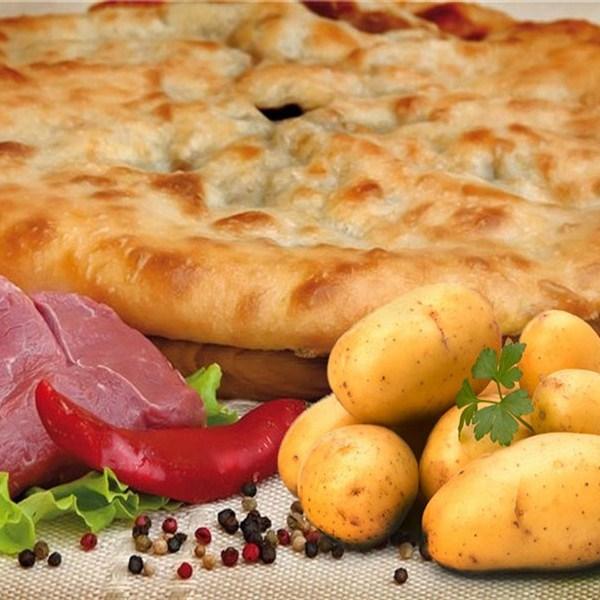 Осетинские пироги доставка Москва с картофелем и мясом Вкус Москвы