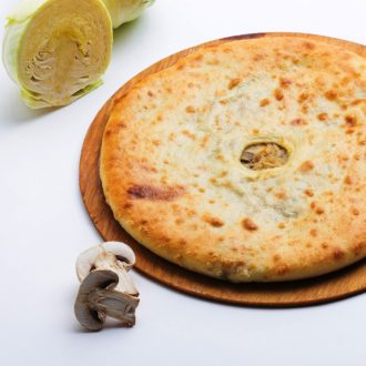 осетинские пироги с капустой и грибами доставка Москва на заказ