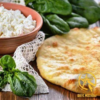 Доставим по Москве осетинские пироги с сыром и шпинатом