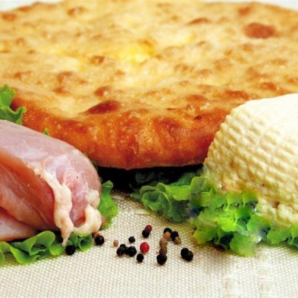 доставка в Москве осетинских пирогов с курицей и сыром - быстрый заказ