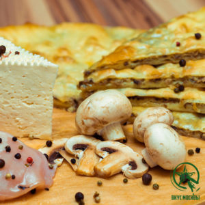 осетинские пироги с курицей сыром и грибами доставка москва заказать