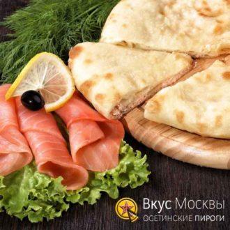Осетинские пироги с семгой - Вкус Москвы