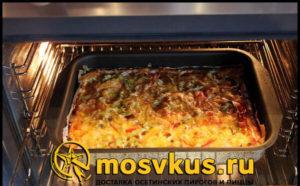 рецепт пиццы в духовке без дрожжей
