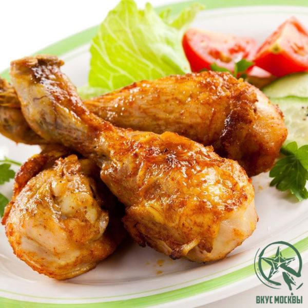 заказать жареную курицу в москве