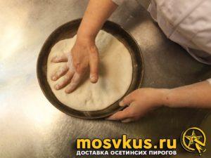 осетинский пирог с сыром рецепт уалибах