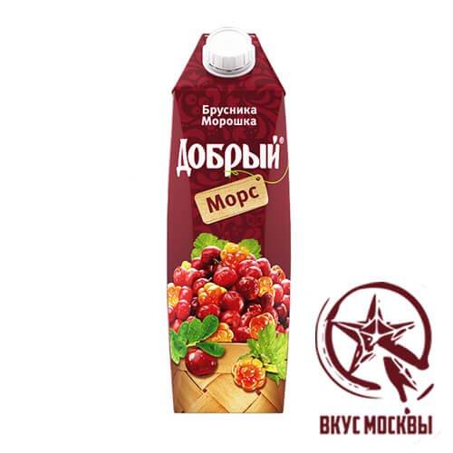 Брусника морс Добрый Москва