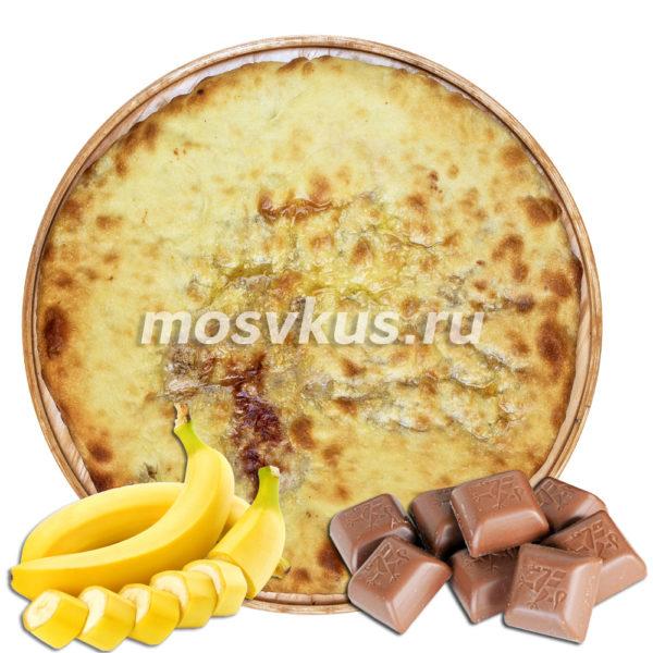 С бананом и шоколадом
