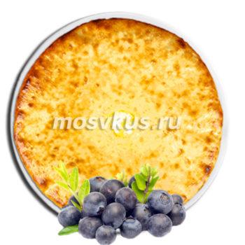 осетинский пирог с черникой