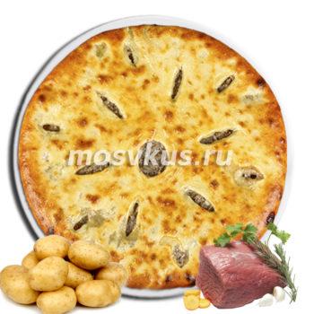 С картофелем и мясом