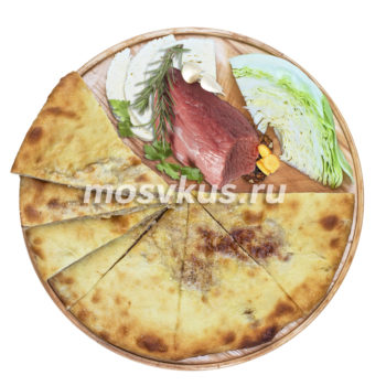 осетинский пирог с мясом и капустой на заказ в Москве