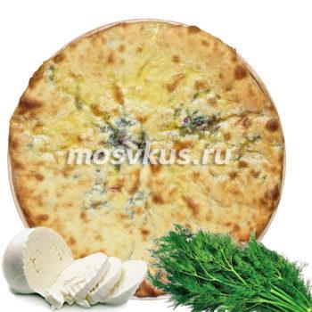 С сыром и укропом