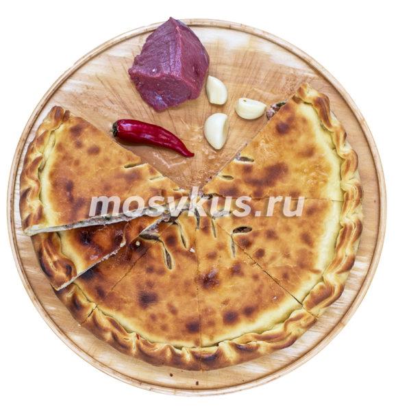 С мясом и болгарским перцем