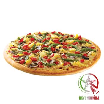 "Пицца ""Бразильская""<br/><text style=""font-size:15px; ""> пицца-соус, куриная грудка, ананасы, острый перчик, моцарелла</text>"